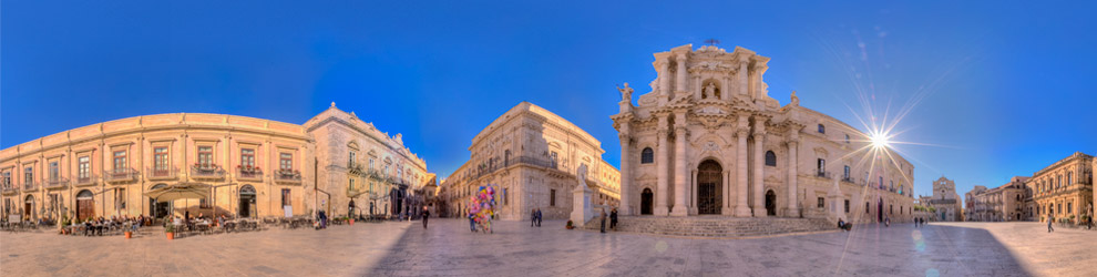 Virtual Tour di Piazza Duomo - Siracusa